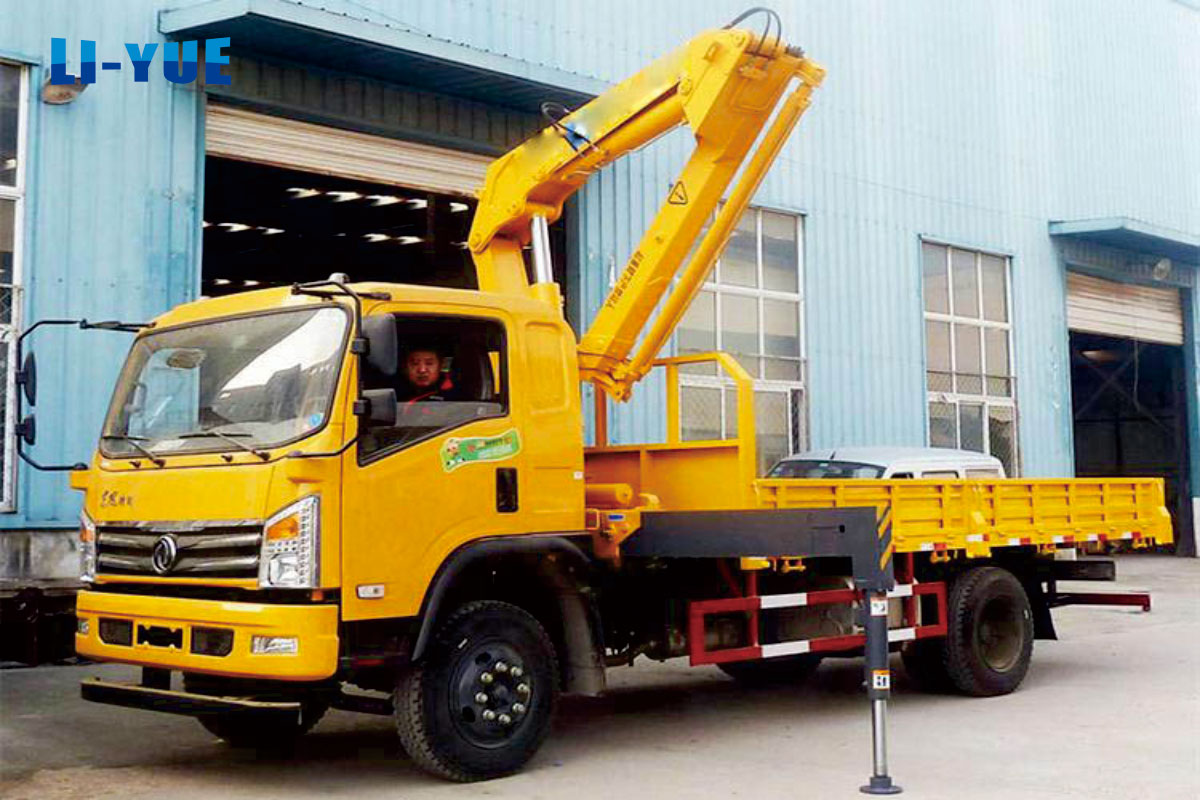 Development History and Knowledge of Truck-mounted Crane in